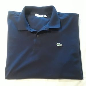 Lacoste Men's Big Size 4 XL Navy Polo Shirt